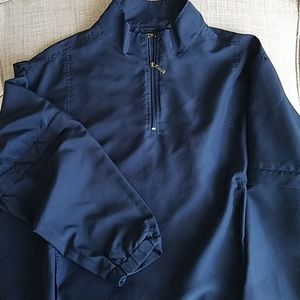 Mens George Golf Navy Blue Jacket W Detachable Arm